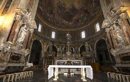 Santissima Annuziata kyrka, Florence, Italien Royaltyfria Foton