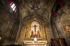 Santissima Annuziata kyrka, Florence, Italien Royaltyfri Foto