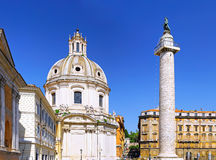 Santissimo Nome di Maria Rome church. Italy. Royalty Free Stock Image