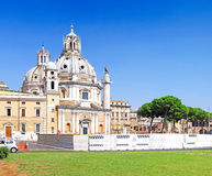 Santissimo Nome di Maria Rome church. Italy. Royalty Free Stock Photo