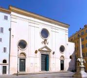 Santissimo Nome di Maria Rome church. Rome. Stock Image