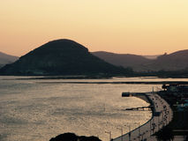 Santoña, un paysage Photos stock