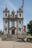 Santo伊尔德方索,波尔图教会  库存照片
