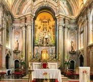 Santo安东尼奥教会,里斯本,葡萄牙 免版税图库摄影