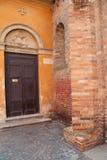 Santo斯特凡诺大教堂在波隆纳,意大利 库存图片
