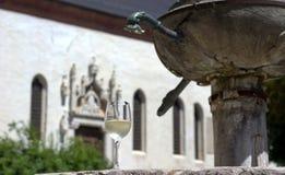 Santo斯特凡诺正方形,在贝卢诺的市中心 库存照片