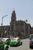 santo площади города de domingo Мексики Стоковая Фотография