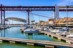 Santo Amaro Docks Imagens de Stock