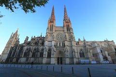Santo Andre de la catedral Foto de archivo libre de regalías