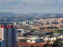 Santo Andre and Maua cities Stock Photo