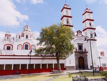 Santo angel custodio church in puebla III Royalty Free Stock Image
