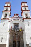 Santo angel custodio church in puebla IV Royalty Free Stock Photo