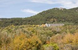 Santo Angel de La Guarda Hospital Stock Photo