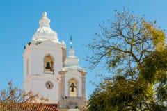 Santo Antà ³ nio教会,拉各斯,阿尔加威,葡萄牙 免版税库存照片