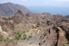 Santo Antao, νησί Cabo Verde Στοκ εικόνες με δικαίωμα ελεύθερης χρήσης