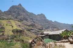 Santo Antao, Cabo Verde Island. One of the best places for trekking Stock Image