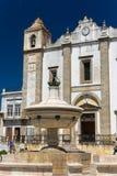 Santo Antao Church in Evora, Portugal Stock Foto's