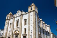 Santo Antao Church in Evora, Portugal Stock Afbeeldingen