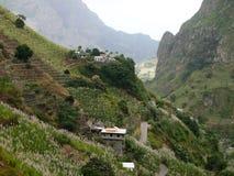 Santo Antao, den mest gröna och nordligast ön i Kap Verde royaltyfri fotografi