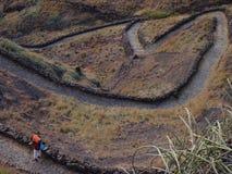 Santo Antao wyspa, przylądek Verde Zdjęcie Stock