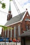 Santo Anthony Church Toledo Oh Imágenes de archivo libres de regalías