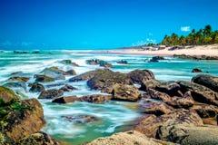 Santo Antonio Beach, Bahia, Brasilien Stockfoto