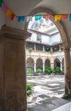 Santo Antonio Convent Cloister Recife Brazil Immagini Stock