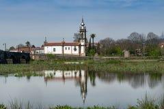 Santo Antonio da Torre Velha church Royalty Free Stock Image