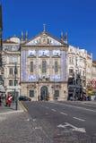 Santo Antonio-de Kerk van Dos Congregados in Almeida Garrett Square Royalty-vrije Stock Afbeelding