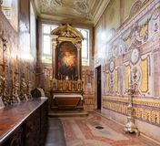 Santo Antonio de Lisboa Church. Altar on the Sacristy Stock Image