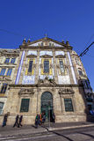 Santo Antonio dos Congregados Church in Almeida Garrett Square Stock Photos