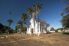 Santo Antonio-kerk in de stad van brodowski met de werken door Cand stock foto's