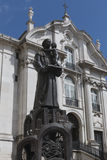 Santo Antonio kościół lisbon Obraz Royalty Free