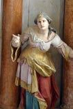 Santo Apollonia Fotos de archivo libres de regalías