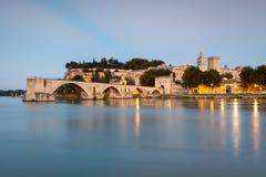 Santo-Bénezet del puente en Aviñón, Provence, Francia fotos de archivo libres de regalías