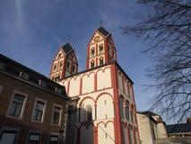 Santo Bartholomew Church en Liège Imágenes de archivo libres de regalías