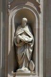 Santo Benedicto de Nursia Fotos de archivo