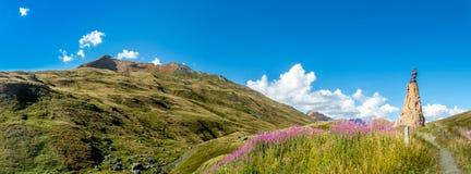 Santo Bernard Pass Imagenes de archivo