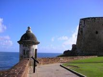 Santo Cristobal de la fortaleza Imagen de archivo libre de regalías