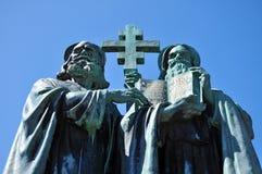 Santo Cyril y Methodius imagen de archivo