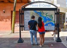 Santo Domingo, Δομινικανή Δημοκρατία Ζωή στους δρόμους και άποψη Calle EL Conde και αποικιακή ζώνη της πόλης Santo Domingo Στοκ φωτογραφίες με δικαίωμα ελεύθερης χρήσης