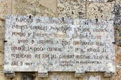 SANTO DOMINGO, ΔΟΜΙΝΙΚΑΝΉ ΔΗΜΟΚΡΑΤΊΑ - 24 ΜΑΡΤΊΟΥ 2017: Ιστορικό π Στοκ εικόνα με δικαίωμα ελεύθερης χρήσης