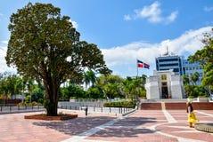 Santo Domingo, Δομινικανή Δημοκρατία Altar de Λα Patria, ο βωμός της πατρίδας Στοκ Εικόνες