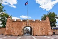 Santo Domingo, Δομινικανή Δημοκρατία Puerta del Conde (η πύλη της αρίθμησης) Στοκ Φωτογραφία