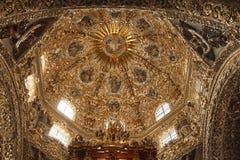 santo domingo Мексики купола церков Стоковые Изображения RF