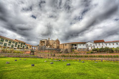 Santo Domingo. Church and convent of Santo Domingo in Cusco, Peru. It was build on top of Inca's sacred site Koricancha Royalty Free Stock Image