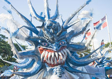 Santo Domingo Carnival Monster Royalty Free Stock Images