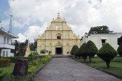 Santo Domingo Cathedral, Basco Batanes Stockfoto