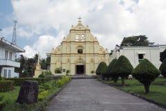 Santo Domingo Cathedral, Basco Batanes Stock Photo