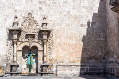 Santo Domingo Church σε Arequipa Στοκ Φωτογραφία